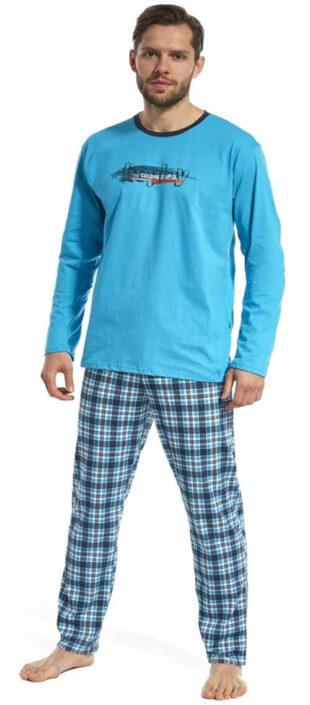 Modern és kényelmes pizsama férfiaknak Display Cornette